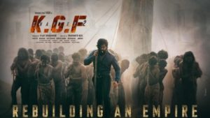 KGF 2 First Look Poster